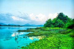 Lake in Sri lanka Mapakada Lake. This is image is Mapakada Lake in Sri lanka. Natural Lake stock photography