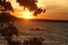 Lake in sri lanka. ... royalty free stock images