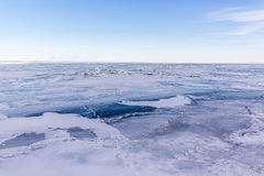 Lake St. Clair, frozen Stock Images