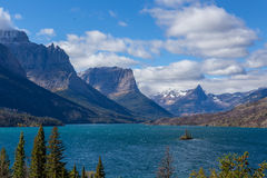 Lake St Mary, Glacier National Park Royalty Free Stock Images