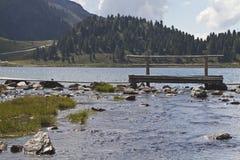Lake on the Staller Sattel Stock Photos