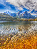 lake stanley Arkivbild