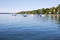 Lake Starnberg Royalty Free Stock Images