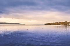 Lake Starnberg in Germany Royalty Free Stock Image