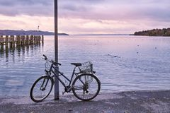 Lake Starnberg in Germany Royalty Free Stock Images