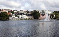 Lake of stavanger Stock Photo
