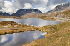 Lake Stavatn Stock Photo