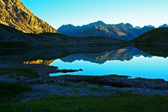 Lake steinsee tyrol Royalty Free Stock Photo