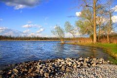 lake stolt michigan Fotografering för Bildbyråer