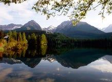 Lake Strba, Slovakia Stock Images