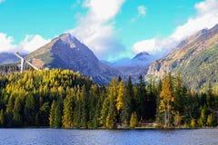 Lake Strba, Slovakia Royalty Free Stock Photo