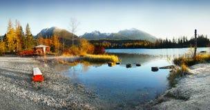 Lake Strbske pleso, High Tatras, Slovakia Royalty Free Stock Photo