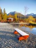 Lake Strbske pleso, High Tatras, Slovakia Royalty Free Stock Image