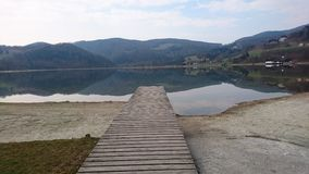 Lake of Stubenberg. The beautiful lake of Stubenberg Stock Photo