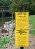 Lake Sturgeon Sign Stock Image