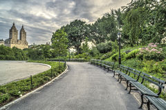 At the lake summer Central Park New York City Stock Photography