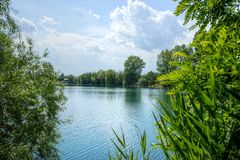 Lake in Summer Royalty Free Stock Image