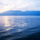 Lake at sunrise Royalty Free Stock Photo