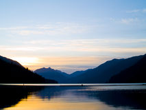 Lake Sunrise Stock Image