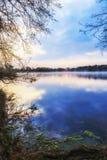 Lake Sunrise Stock Photo
