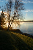 Lake Sunrise (verticle) Royalty Free Stock Images