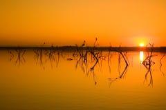Free Lake Sunset Stock Photography - 15615162