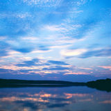 Lake at sunset Royalty Free Stock Photos