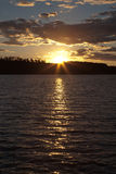 Lake sunset Royalty Free Stock Images