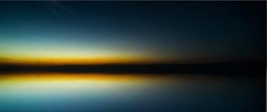 Lake sunset Royalty Free Stock Images