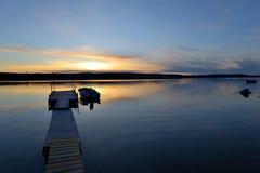 Lake Sunset Stock Photos
