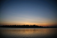 lake with sunshine Royalty Free Stock Photo