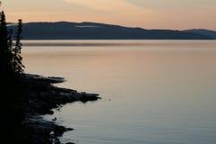 Lake Superior royaltyfri bild