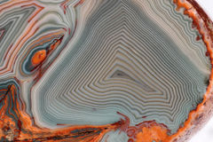 Lake Superior Agate - Macro Royalty Free Stock Images