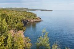 Lake Superior Autumn Scenic Stock Image