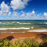 Lake Superior Beach Stock Photography