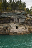 Lake Superior Cave Royalty Free Stock Image