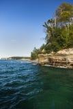 Lake Superior Cliff Scenic Stock Image