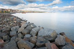 Lake Superior Coast Line Royalty Free Stock Photo