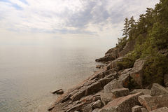 Lake Superior Coastal Vista Royalty Free Stock Photo