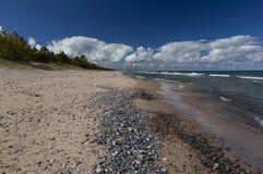 Lake Superior Crisp Point Royalty Free Stock Photography