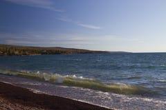 Lake Superior Grand Marais Stock Image