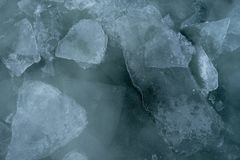 Lake Superior Ice royalty free stock photo