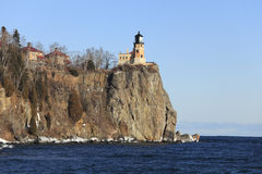 Lake Superior Lighthouse Royalty Free Stock Photography