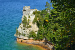 Lake Superior Miners Castle Royalty Free Stock Images