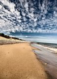 Lake Superior Northern Michigan Stock Image