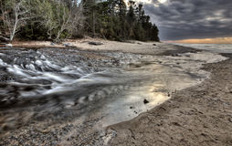 Lake Superior Northern Michigan Stock Photography