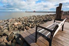 Lake Superior Overlook Stock Image