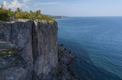 Lake Superior Palisade Head Royalty Free Stock Image
