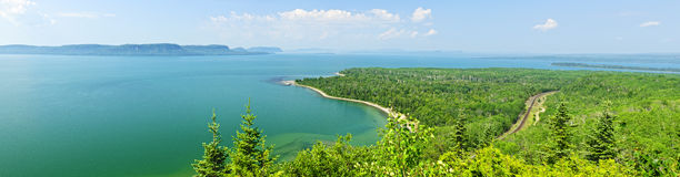 Lake Superior panorama Royalty Free Stock Photography