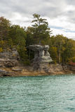 Lake Superior Rock Formation Royalty Free Stock Photography